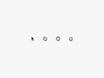 OS X cursors by Yanis Markin - Dribbble
