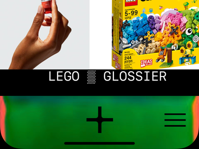 BOARDS APP fashion minimalist clean contemporary art lego glossier ios iphone interface app ui