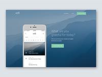 Kyō Website Concept