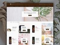 Escents Website