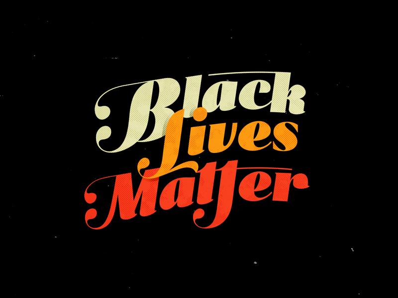 Black Lives Matter justice peace blm black lives matter typography type