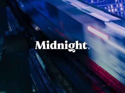 Midnight serif midnight design logo branding typography type