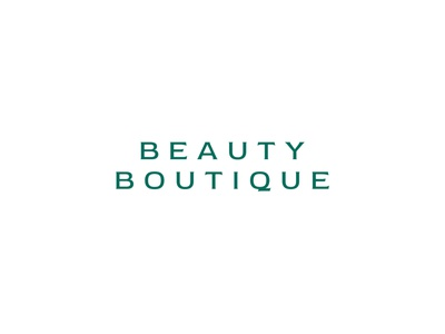 Beauty Boutique hair nail salon boutique beauty design illustration monogram branding typography logo type