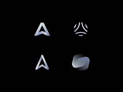 Mark Explorations emblem mark design monogram branding logo