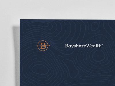 Bayshore Wealth advisors wealth wip typography type branding logo