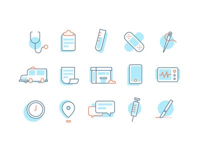 Care Center Icons v1