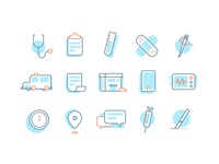 Care Center Icons v1