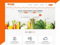Burpy   l   Grocery Landing Page