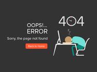 Error Page - 404