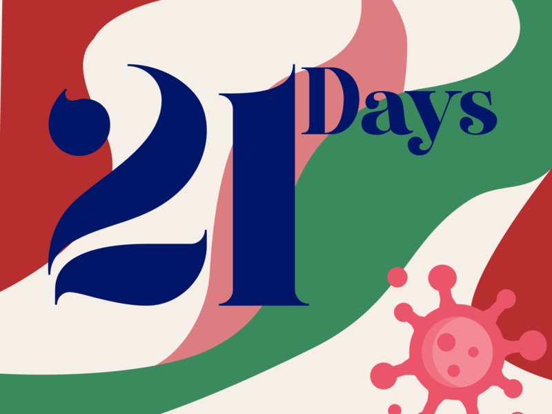 21 Days Lockdown challenge colours typography coronavirus corona challenge graphicdesign lockdown