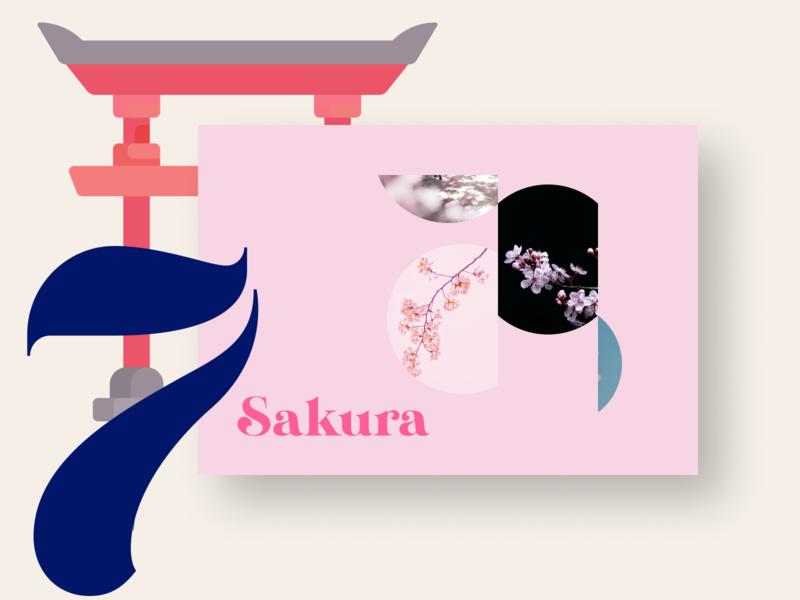 21 DAYS 7 flowers spring pink crop sakura japan