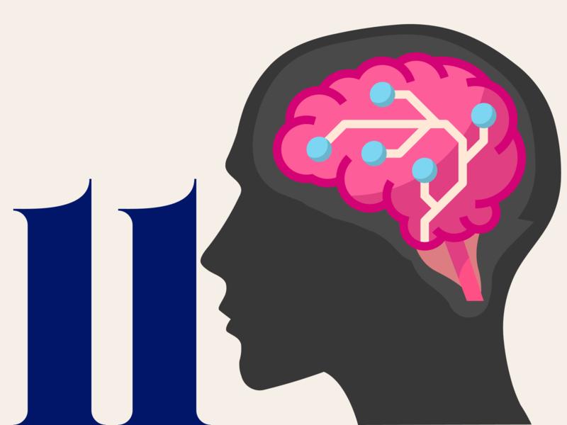 21 DAYS 11 head symbol difficult mental dark brain noise brain