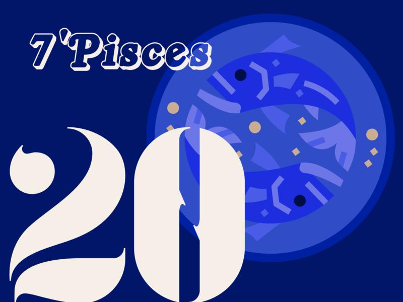21 DAYS 20 astrology blue zodiac pisces