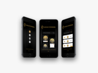 Gold Finder Product Design Concept iOS App