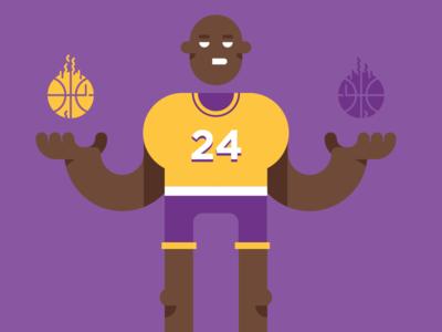 Kobe sport character bryant basketball nba kobe