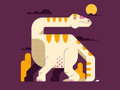 Dinosaur animal art flat vector animal dinosaurs dinosaur dino