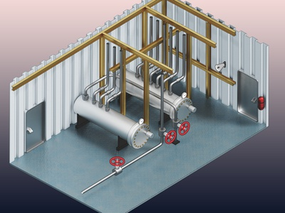 Pipework zone