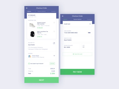 eCommerce Cart & Payment