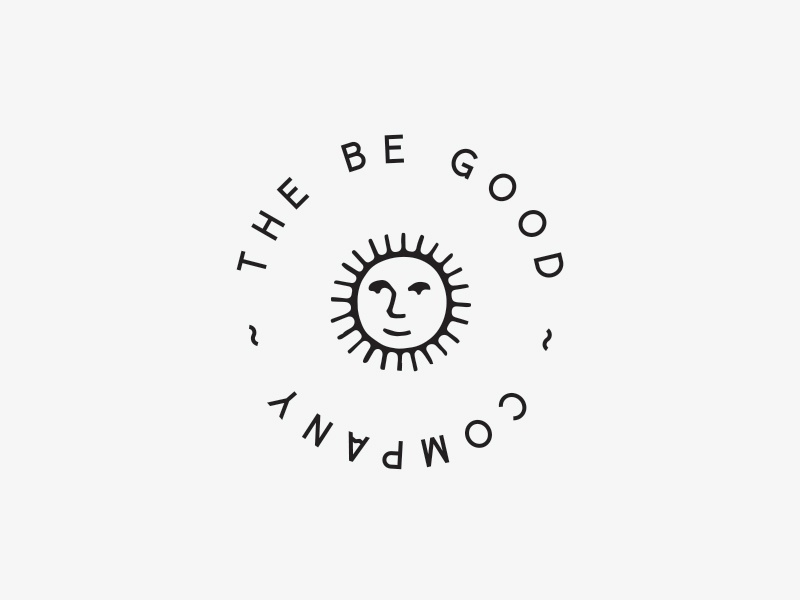 The Be Good Company sun logo kids
