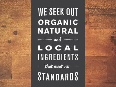 Food Labels type food labels