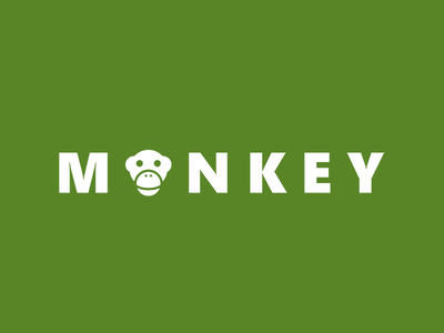 Monkey - logo illustration animal logodesign trend logos brandidentity identity branding brand logotype logo