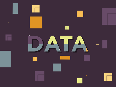 Data Protection security technology motion design motiongraphics mograph data protection data aftereffects 2d animation