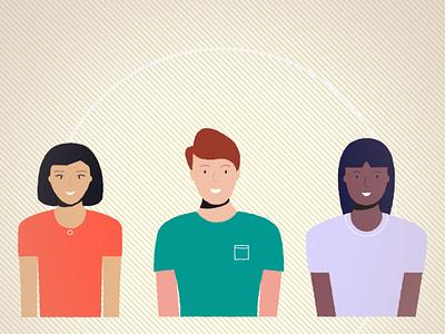 Character proposal illustrator tech team characterdesign character illustration design vector
