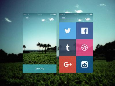 Daily UI #010 Social Share