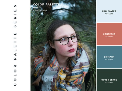 Color Palette: Evergreens