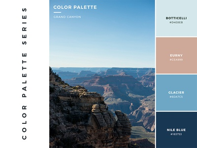 Color Palette: Grand Canyon