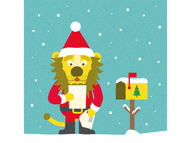 Lettre Au Pere Noel Com.Lettre Au Pere Noel Finition By Laurent Holdrinet On Dribbble