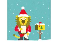 Lettre au père Noël - Finition