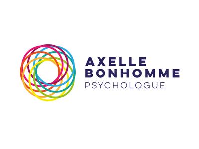 Identité visuelle Axelle Bonhomme, psychologue psychologist identity visual psychologue logo