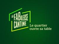 La FABuleuse Cantine - Identité visuelle