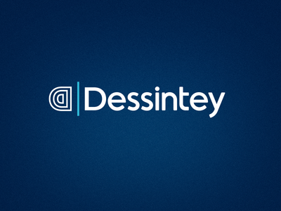Dessintey - Rehabilitation therapy device french mirror symetry blue rehabilitation therapy medical branding logo