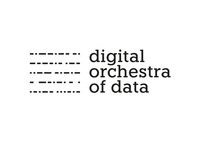 DOOD - Digital Orchestra Of Data logo design