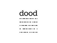 DOOD logo - Condensed