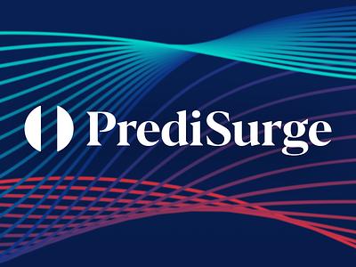 PrediSurge logo design startup logo surgery medical design medtech logo