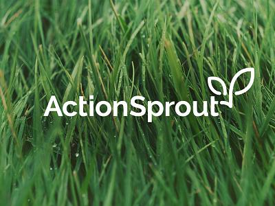 Actionsprout Logo design logo