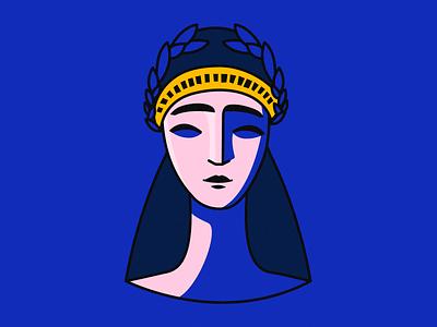 Mother Of Georgia graphicdesign vector minimal illustration