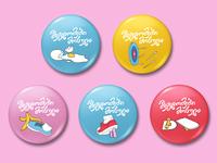 Pins designs