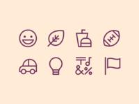 Asana Emoji Icons