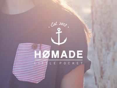 {VIDEO} Hømade - Little Pocket video diy couture anchor logo homemade