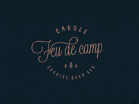 Feu de camp - Candle