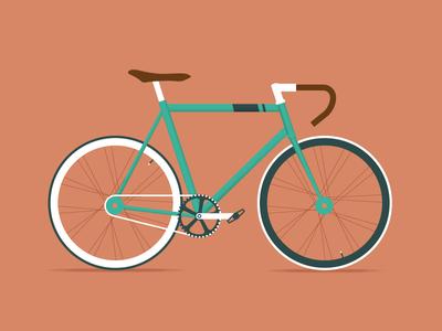 Fixie fixie bike hipster boho vintage logo icon city vélo parisian paris vinslëv vinslev