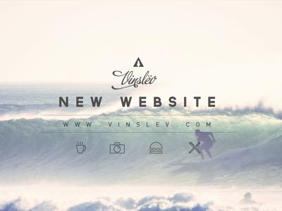 New website & new blog website wordpress blog vinslëv vinslev.com journal