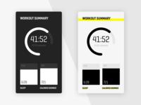 Workout Details Screen