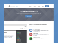 Screenbeacon API v1.0