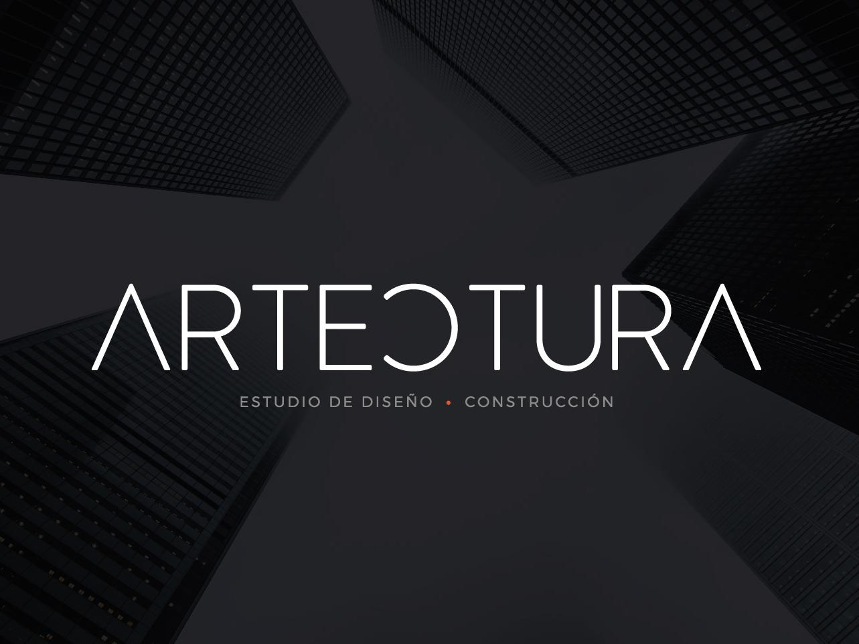 Artectura logo design branding