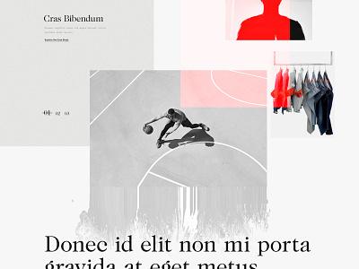 A Dusty AD Exploration dusty rough serif concept web design art direction